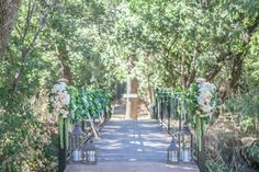 Bridge with Lanterns and Flowers | photography by http://www.allysonwiley.com/
