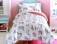 Total Fab: Paris & Eiffel Tower Themed Bedding for Less