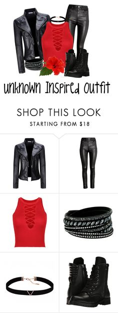 """""""Unknown Inspired Outfit"""" by raven-writer on Polyvore featuring WithChic, H&M, Swarovski, Astrid & Miyu and Capezio"""