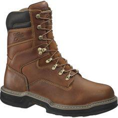 """Wolverine Men's Raider 8"""" Work Boots"""