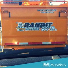 Equipment brand decals display your brand 7 days a week. #SimplifyingLabeling