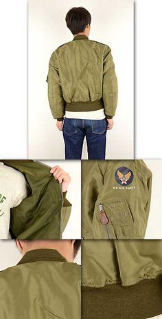 men Buzz Rickson's バズリクソンズ BR11130 [ro] Orient enterprise flight jacket L-2 AMERICAN PAD & TEXTILE CO.