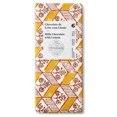 レモンガナッシュ ミルクチョコレート (Chocolataria Equador) Chocolate Brands, Equador, Portugal, Packaging, Design, Wrapping, Design Comics