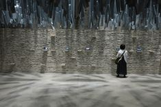 Though the range of discussions is varied, one concept that seems to pervade through a great deal of the show is the novel or uncommon use of materials. Venice Biennale, Great Deals, Novels, Range, Concept, Traditional, Architecture, Arquitetura, Cookers