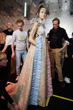 Viktor & Rolf at Couture Spring 2020 - Backstage Runway Photos