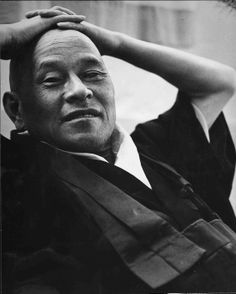 'In [meditation] leave your front door and back door open. Let thoughts come and go. Just don't serve them tea'. -Shunryu Suzuki