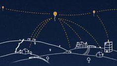Loon for All - Project Loon : les ballons de Google sont connectés en réseau à 20 km de la surface terrestre.