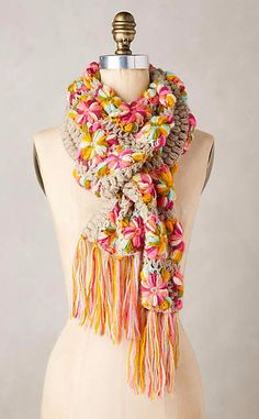 Knittery Scarf #anthrofave