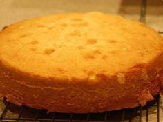 Pão de ló para bolos de aniversario por debora_pedroso   Tortas e Bolos   Receitas.com