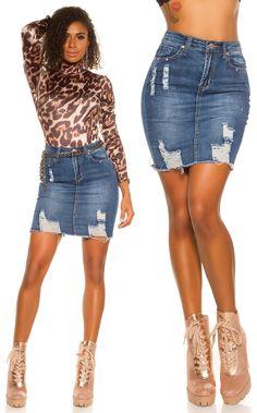 Denim Skirt, Skirts, Fashion, Moda, Fashion Styles, Skirt, Fashion Illustrations, Jean Skirt