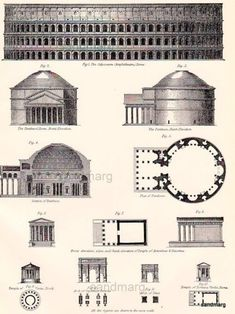 an overview of the unique style of roman architecture Architecture in the middle ages  in germany by the holy roman kings gothic architectural style became significant in spain after the defeat of islamic rulers by.