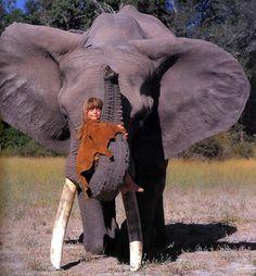 Découvrez l'histoire de Tippi, une petite fille qui a grandi dans la savane Africaine