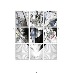 """>>>>>>>>>>>>>>>>>>>>>>>>  """" El diamante de una estrella  Ha rayado el hondo cielo,   Pájaro de luz que quiere  Escapar del universo   Y huye del Enorme nido  Donde estaba prisionero  Sin saber que lleva atada   Una cadena en el cuello.""""  .  (Fragmento del poema"""" El diamante"""" de federico Garcia lorca)   #art🎨 #ink #comics #secuencia #diamond #sun #federicogarcialorca #watercolor #star #estrella"""