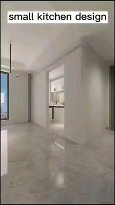 Small House Interior Design, Small Room Design, Interior Design Kitchen, Home Decor Kitchen, Kitchen Pantry Design, Modern Kitchen Design, Kitchen Storage, Kitchen Designs, Room Design Bedroom