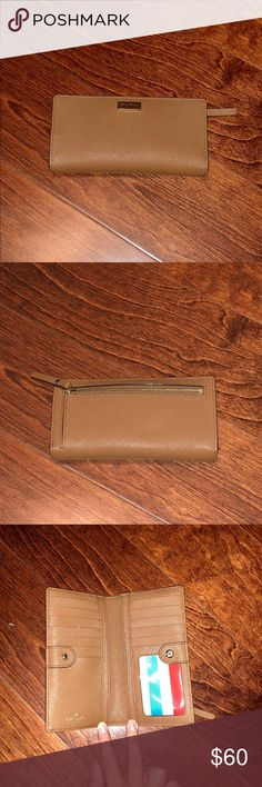 Lightly Used Kate Spade Wallet (brown) Lightly used brown leather Kate Spade wallet kate spade Bags Wallets