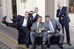 Jean-Claude Van Damme, Dolph Lundgren, Arnold Schwarzenegger, Sylvester Stallone, Jason Statham