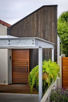 contemporary cottage renovation.
