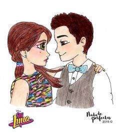 Luna and Matteo  episode 40! A drawing made by me in August, for a fan account #lutteo! This drawing is part of my #SoyLuna comics! Very soon at facebook.com/nadadeperfectas! I hope you like it!  Un dibujo realizado por mi en agosto, para una...