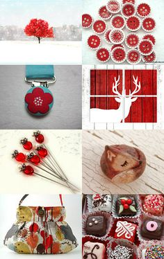 Red by Jacqueline Hurd on Etsy--Pinned with TreasuryPin.com