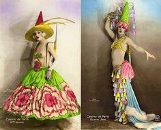 antique casino de paris dancers - Google Search