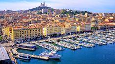 Marseille, le Vieux Port.