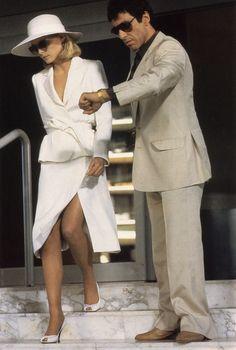 Looks Style, Looks Cool, Elvira Hancock, Estilo Ivy, Mode Disco, Scarface Movie, Elvira Scarface, Scarface Quotes, Gangster Movies
