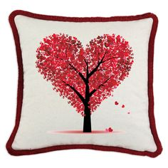 Have to have it. D'Kei Valentines Graphic Pillow Heart Tree $81.99