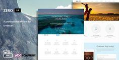 Zero 2.9 - Multi-Purpose WordPress Theme Screen Preview