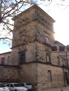 ...y la Cárcel del Obispo (juzgados de úbeda en la actualidad)