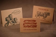 Uncommon Greeting Cards   Guttersnipe Press   Bourbon & Boots