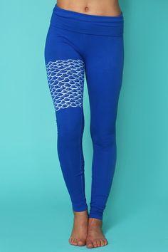 organic mermaid III leggings | Purusha People