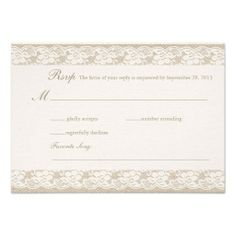 ==> reviews          Burlap & Lace RSVP Card           Burlap & Lace RSVP Card Yes I can say you are on right site we just collected best shopping store that haveThis Deals          Burlap & Lace RSVP Card Here a great deal...Cleck Hot Deals >>> http://www.zazzle.com/burlap_lace_rsvp_card-161665781168629095?rf=238627982471231924&zbar=1&tc=terrest