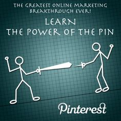 The Power Of The Pin http://moneywithpinterest.com/