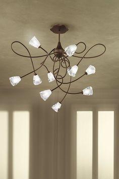 """Collection """"Crystal"""" 2003. Design Massimo Sacconi."""