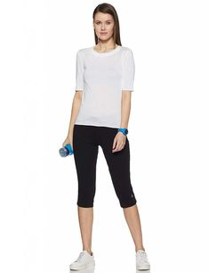 Length Legging for gym for women Glitter Leggings, Red Leggings, How To Wear Leggings, Women's Fashion Leggings, Cotton Leggings, Leather Leggings, Printed Leggings, Indian Fashion Trends, Fashion Tips