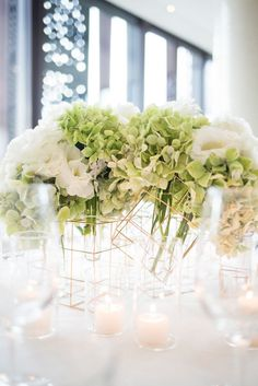Erin + Boris - Circa Wedding, The Style Co. Luxe Wedding, Floral Wedding, Wedding Colors, Wedding Styles, Contemporary Wedding Decor, Floral Backdrop, Gold Bridal Showers, Geometric Wedding, Geometric Decor