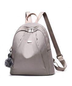 fcf68771b1 Women Backpack Purse Lightweight Waterproof Cloth Nylon Rucksack Girls  Daily School Shoulder Bag - CG18E8U4AKR #