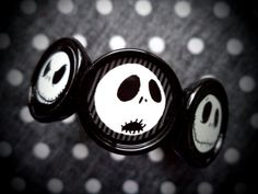 Many Faces of Jack collage bracelet by LttleShopOfHorrors on Etsy, $13.00