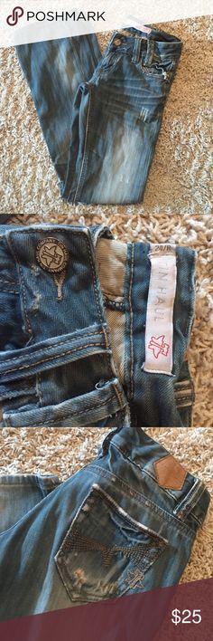 Girls Women's Tin Haul Jeans size 24R Like New Girls Women's Tin Haul Jeans Bootcut size 24R Like New Tin Haul Jeans Boot Cut