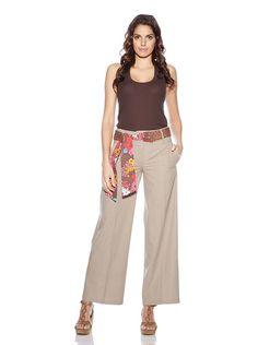7 Ideas De Pantalon Lino Mujer Pantalon Lino Mujer Moda Para Mujer Ropa