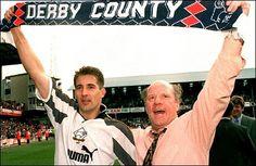 Igor Stimac and Jim Smith celebrate promotion to the Premiership