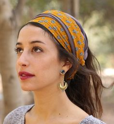 Adita Hallf oder vollen Kopf Bedeckung / מטפחת
