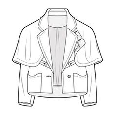 Discover recipes, home ideas, style inspiration and other ideas to try. Illustration Mode, Fashion Illustration Sketches, Fashion Sketches, Design Illustrations, Flat Drawings, Flat Sketches, Technical Drawings, Fashion Design Sketchbook, Fashion Design Drawings