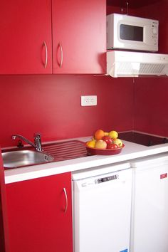 Exemple de cuisine - Résidence Aguylène à Carnon