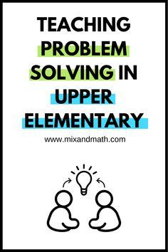 Workshops — Mix and Math 4th Grade Math Problems, Fifth Grade Math, Word Problems, Teaching Strategies, Teaching Tips, Teaching Math, Math Teacher, Math Classroom, Elementary Math