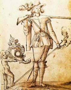1640 - Mosqueter del Terç Sta. Eulàlia.