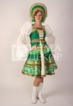 Russian Folk, Character Costumes, People Of The World, Harajuku, Womens Fashion, Kids, Vintage, Dresses, Outfits