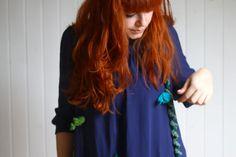 DIY: Faschingskostüm - we love handmade Halloween, Long Hair Styles, Aquarium, Handmade, Diy, Costumes, Beauty, Trim Board, Carnivals