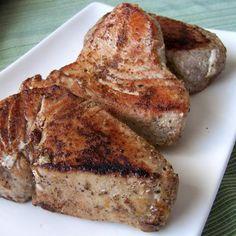 Seared Spicy Tuna Steaks Recipe