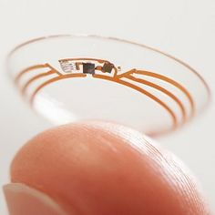 Google Patent Tips Smart Contacts With Cameras